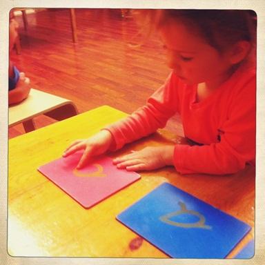 Casa: Sandpaper Letters