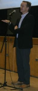Dr. Alex Russell speaks at Dundas Valley Montessori School