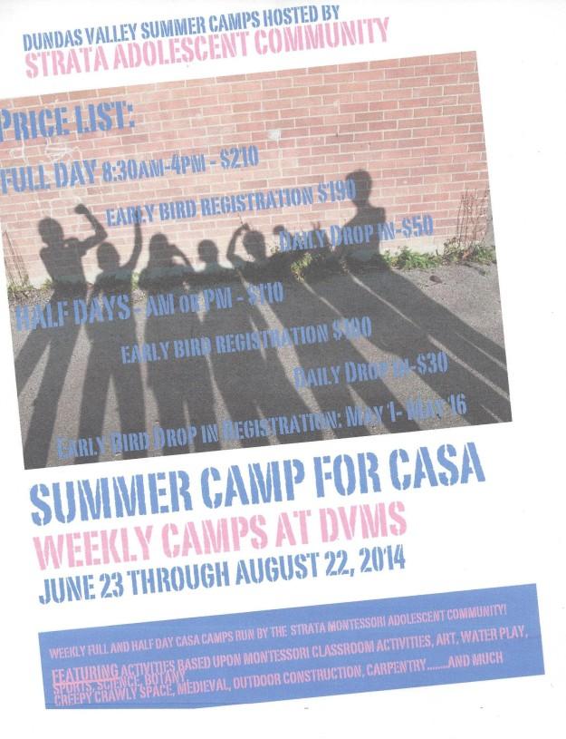 2014 Casa Summer Camp