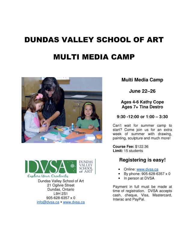 DVSA multimedia camp 2015